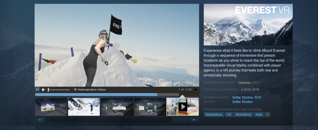 Tours virtuales al Everest