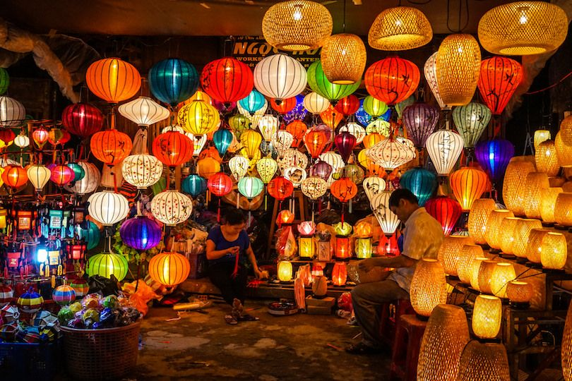 Hoi An, la ciudad de los farolillos de Vietnam.
