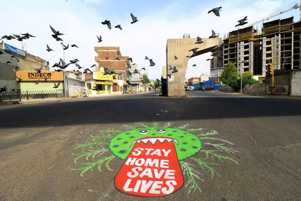 Street art en Jaipur