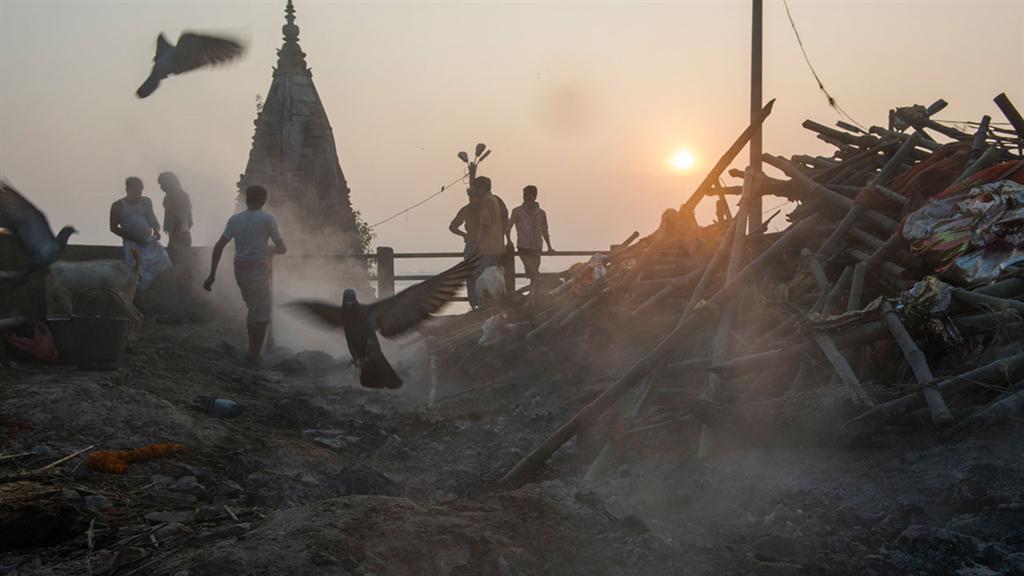 Muerte en Varanasi