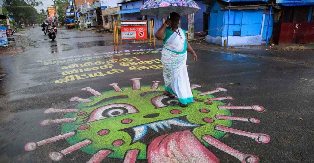Arte urbano coronavirus