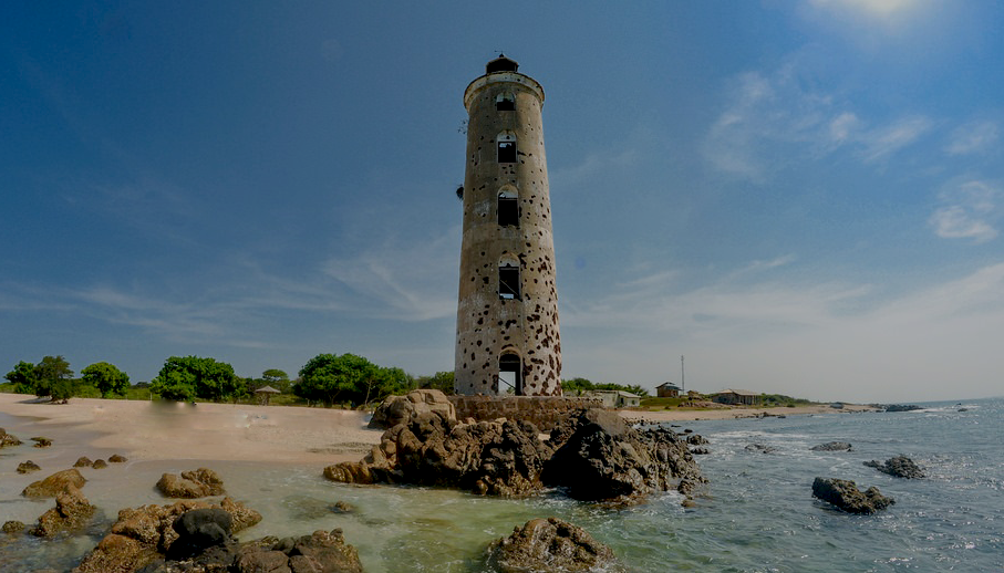Faro reformado en Sri Lanka