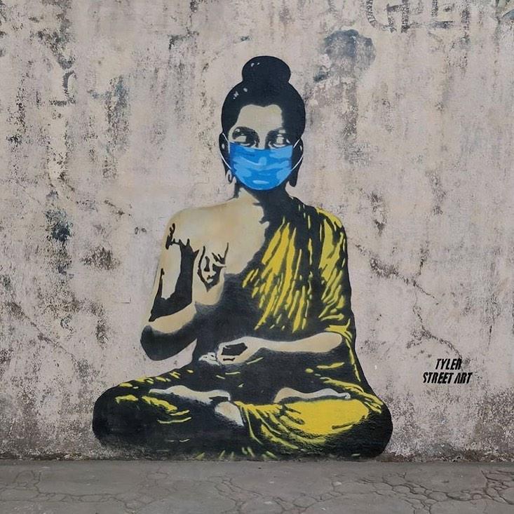 Graffiti de Buda
