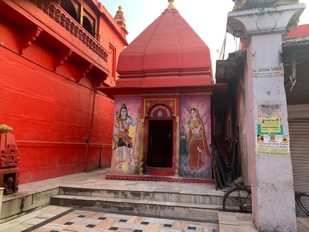 Templos en Varanasi