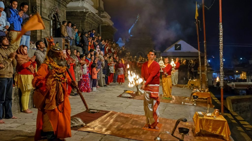 Rituales sagrados de Nepal
