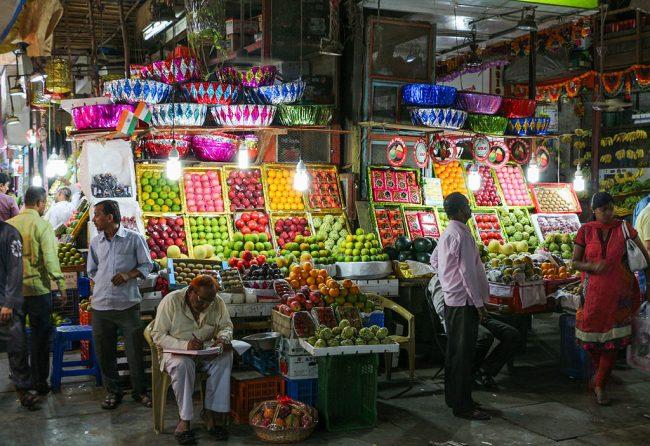 Colaba Bazar en Mumbai