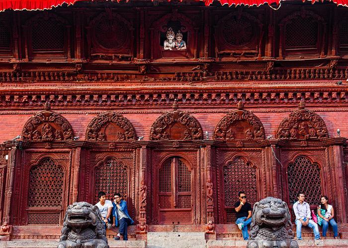 Templos de Durbar en Katmandú