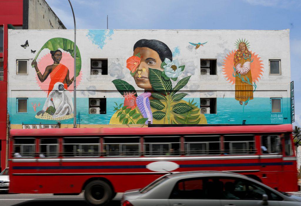 Arte urbano en Sri Lanka