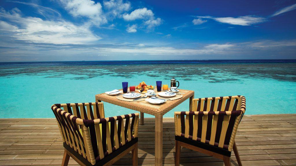 Restaurantes en Maldivas
