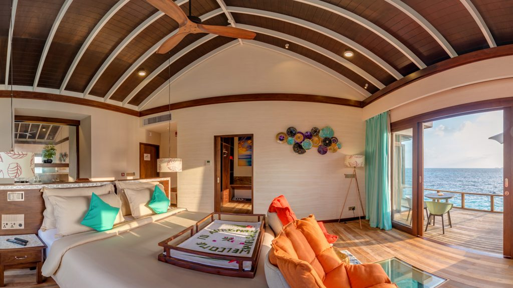 Vacaciones en familia en Maldivas