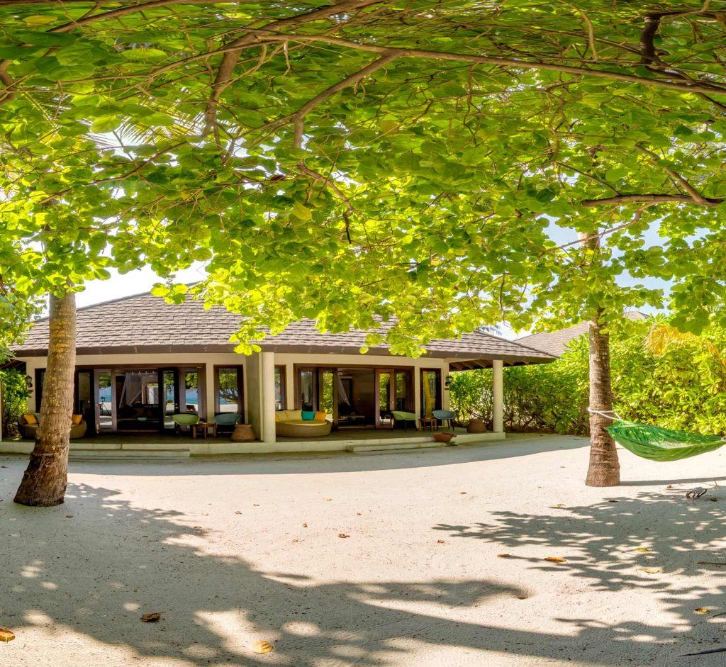 Alojamiento familiar en Maldivas