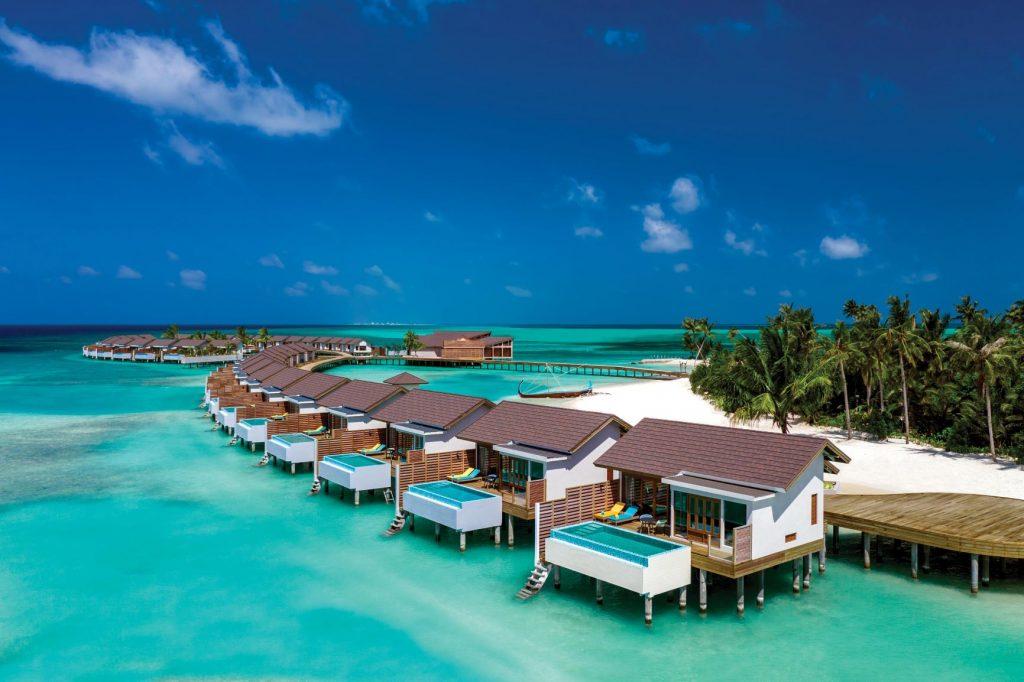 Villa con piscina en Maldivas