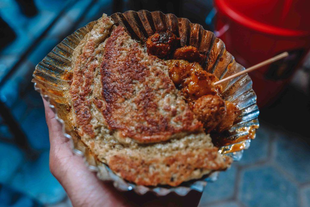 Comida callejera de Nepal