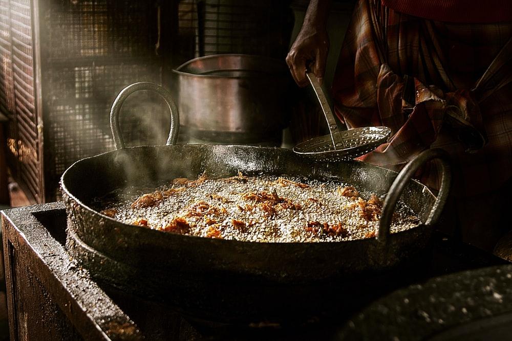 Comida callejera de India