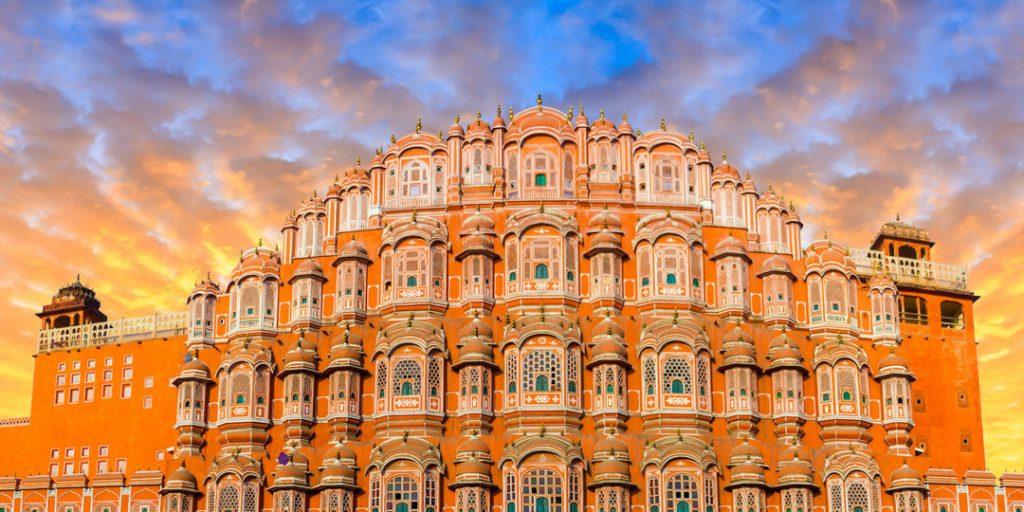 Hawa Mahal en Jaipur