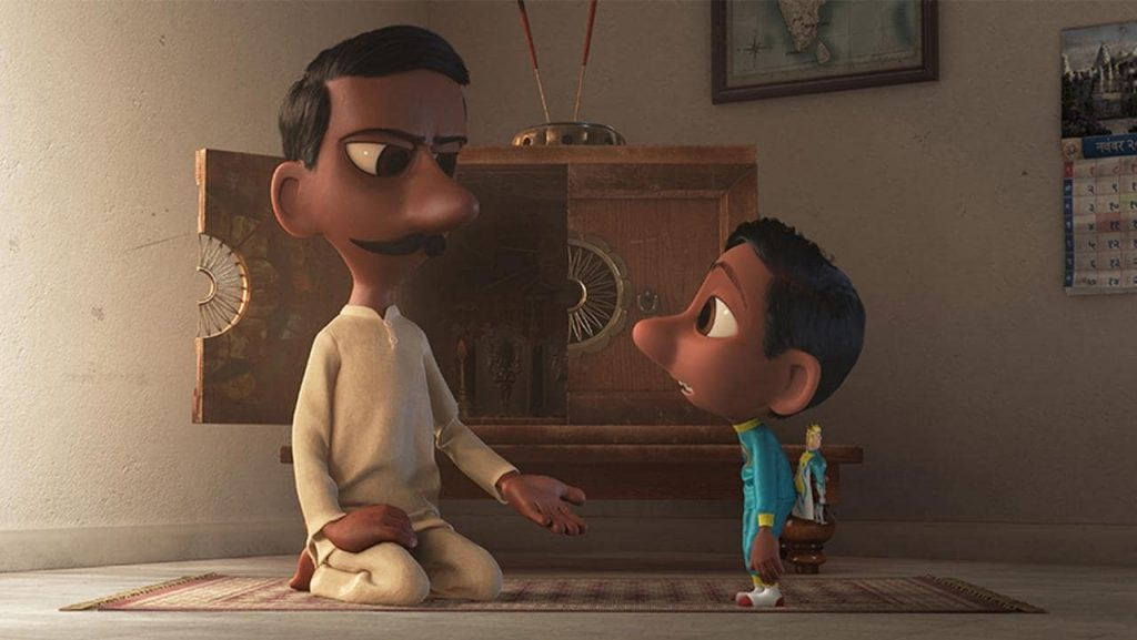Corto de Pixar sobre India