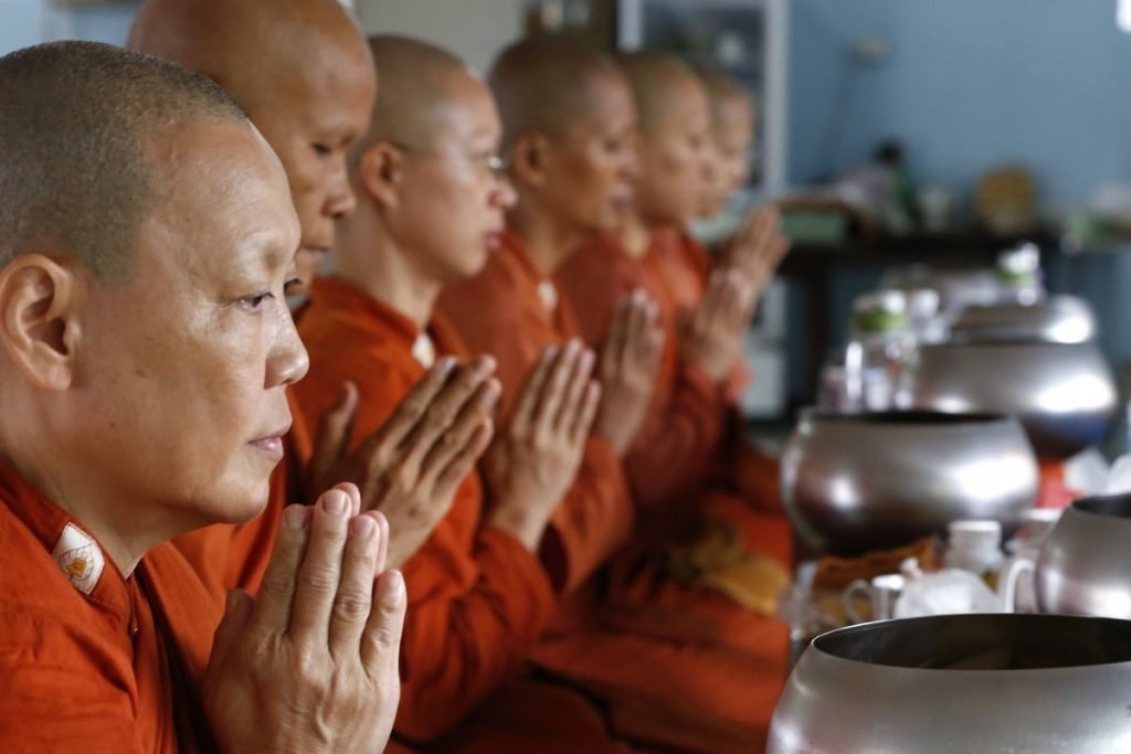 Monjas budistas
