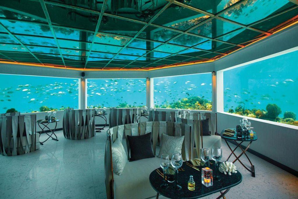 Restaurantes submarinos del mundo