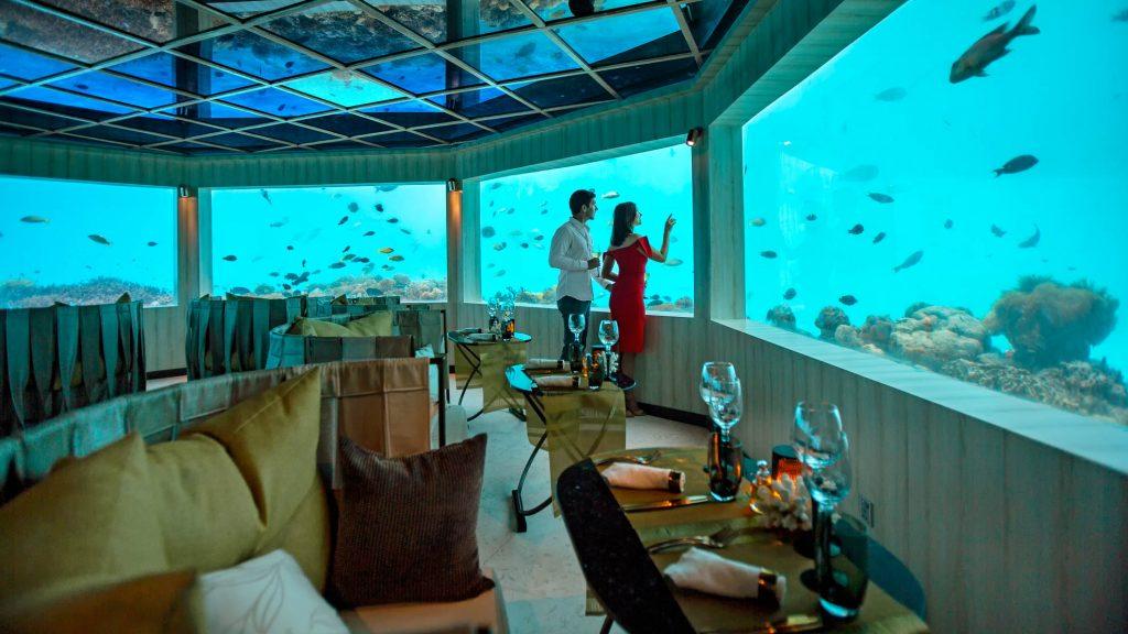 Restaurantes submarinos en Maldivas