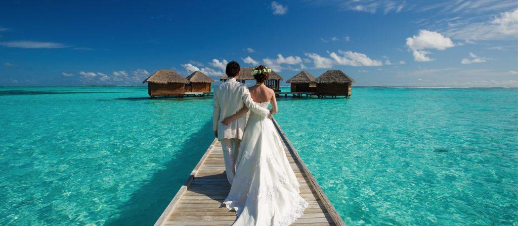 Boda en Maldivas