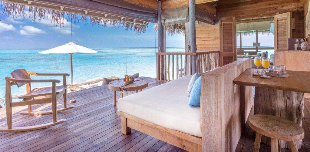 Hoteles sostenibles en Maldivas