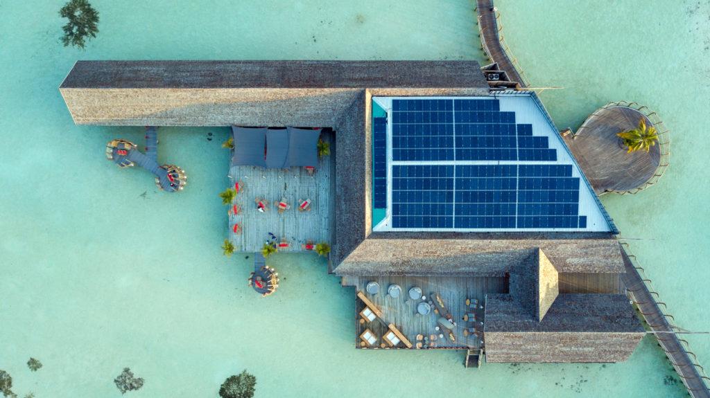 Sostenibilidad en Maldivas