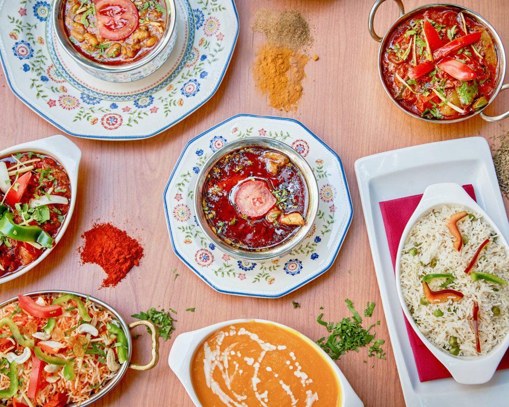 Restaurantes hindúes en Sevilla