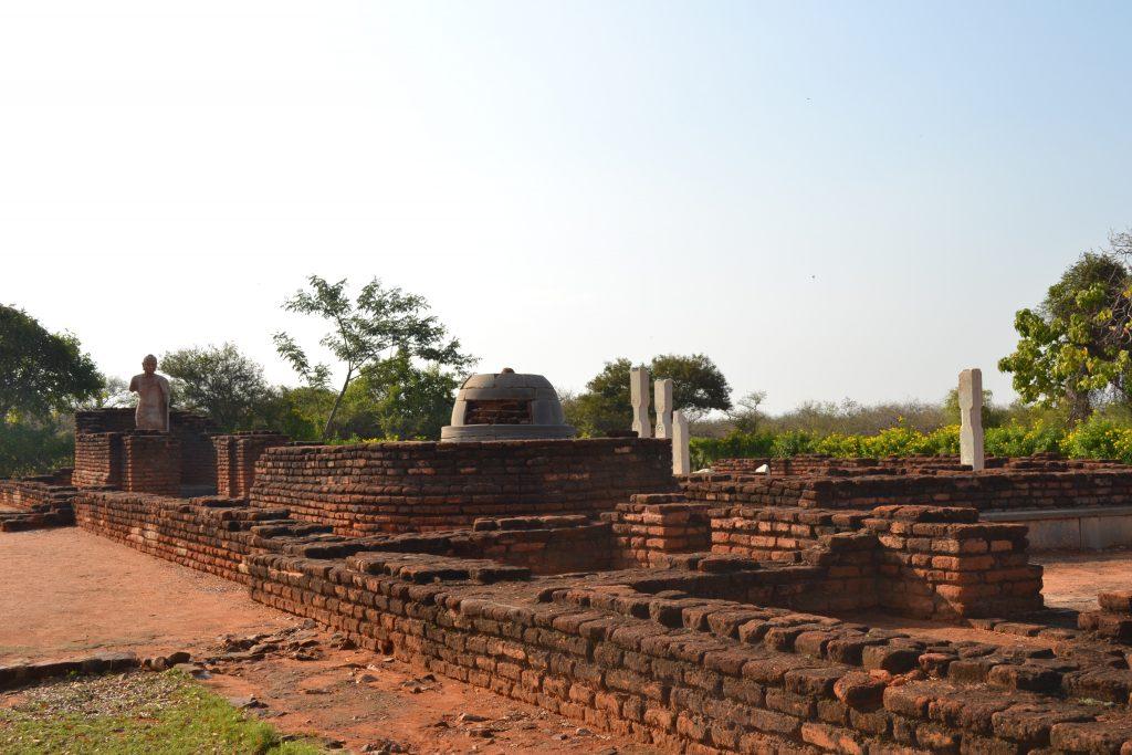Restos budistas en India