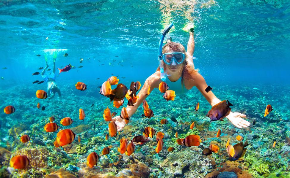 mejores destinos para practicar snorkel