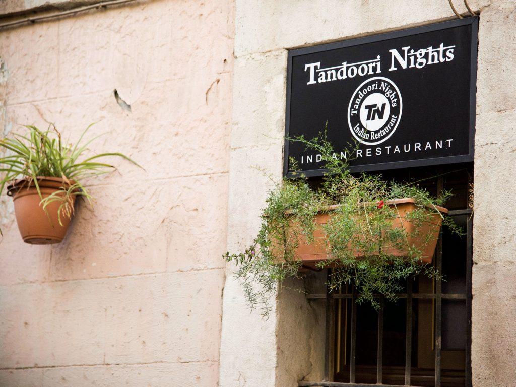 Mejores restaurantes indios en Barcelona