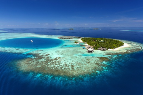 Aerial View © Baros Maldives